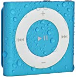 Waterfi 100% Waterproof iPod Shuffle with Dual Layer Waterproof/Shockproof Protection (Blue), Best Gadgets