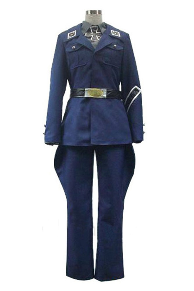 Axis Powers Hetalia Preußen Uniform Cosplay Kostüm Herren XXL