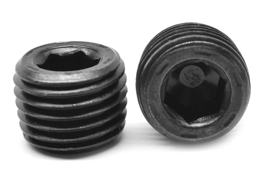 Black Oxide Finish Steel 13//16-16 to 3//4NPT Automotive Thread Adapter