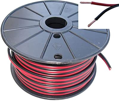 Heavy Duty 16 Gauge ZIP Power/Audio cord - 25 Feet Length