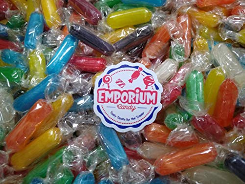 Assorted Rod Hard Candies- 1.5 lbs of Fresh Delicious Assorted Bulk Individually Wrapped Candy with Refrigerator Magnet…