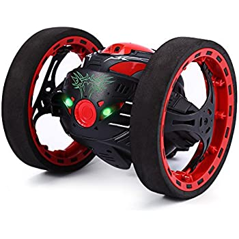 GBlife 2.4GHz Wireless Remote Control Jumping RC Toy Cars Bounce Car No  WiFi for Kids (Black) fa5748f83ad
