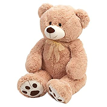 ce5c1a6f42a 100cm Giant Brown Bear  Amazon.co.uk  Toys   Games