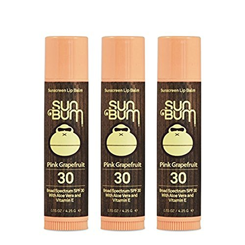 Sun Bum SPF 30 Lip Balm Watermelon 3 Pack