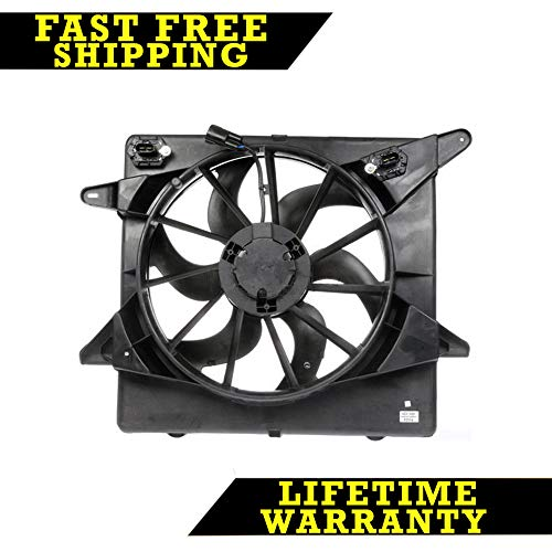 RADIATOR CONDENSER COOLING FAN FOR CADILLAC FITS SRX 3.0 3.6 GM3115234