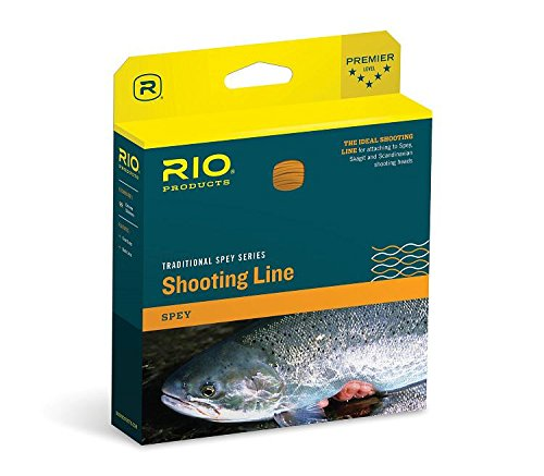 Rio Fly Fishing Fly Line Connect core Shooting Line .026 Fishing Line, Orange (Fishing Core Line)