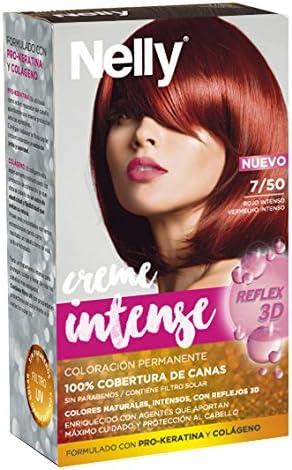 Nelly Set Tinte 7/50 Rojo Intenso - 12 Recipientes de 115 ml ...