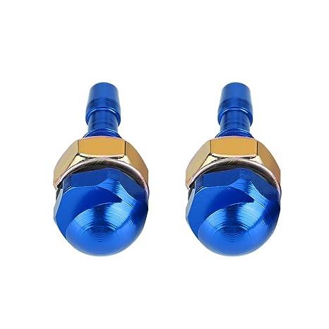 2 boquillas limpiaparabrisas para parabrisas Keenso universal, kit de repuesto de boquilla de chorro de