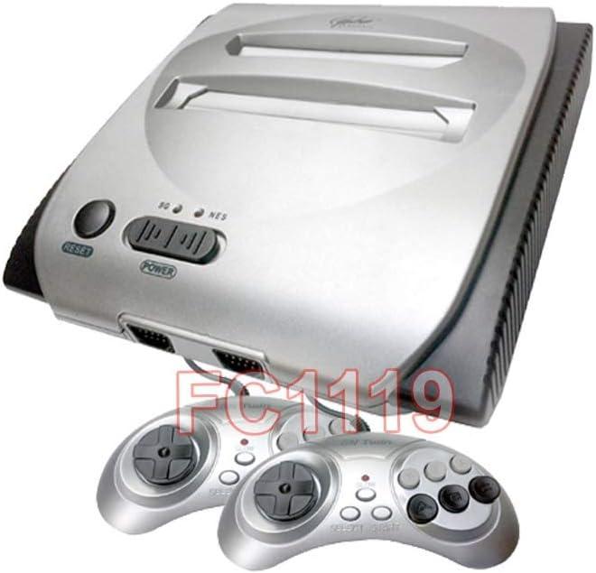 Amazon com: 2-In-1 FC Retro Gaming System for NES + Sega Genesis