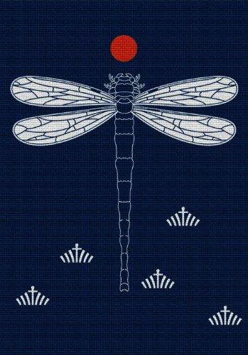 Art Needlepoint Dragonfly Needlepoint (Dragonfly Needlepoint Kit)