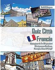 Quiz Città Francia | Libro gioco da 2 a 20 giocatori | Chi riconosce Bordeaux, Marsiglia, Nizza & Parigi?