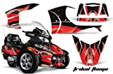 AMR Racing ROAD-CAN-SPYDERRTSTRIM-TRIBALFLAMES-RBK