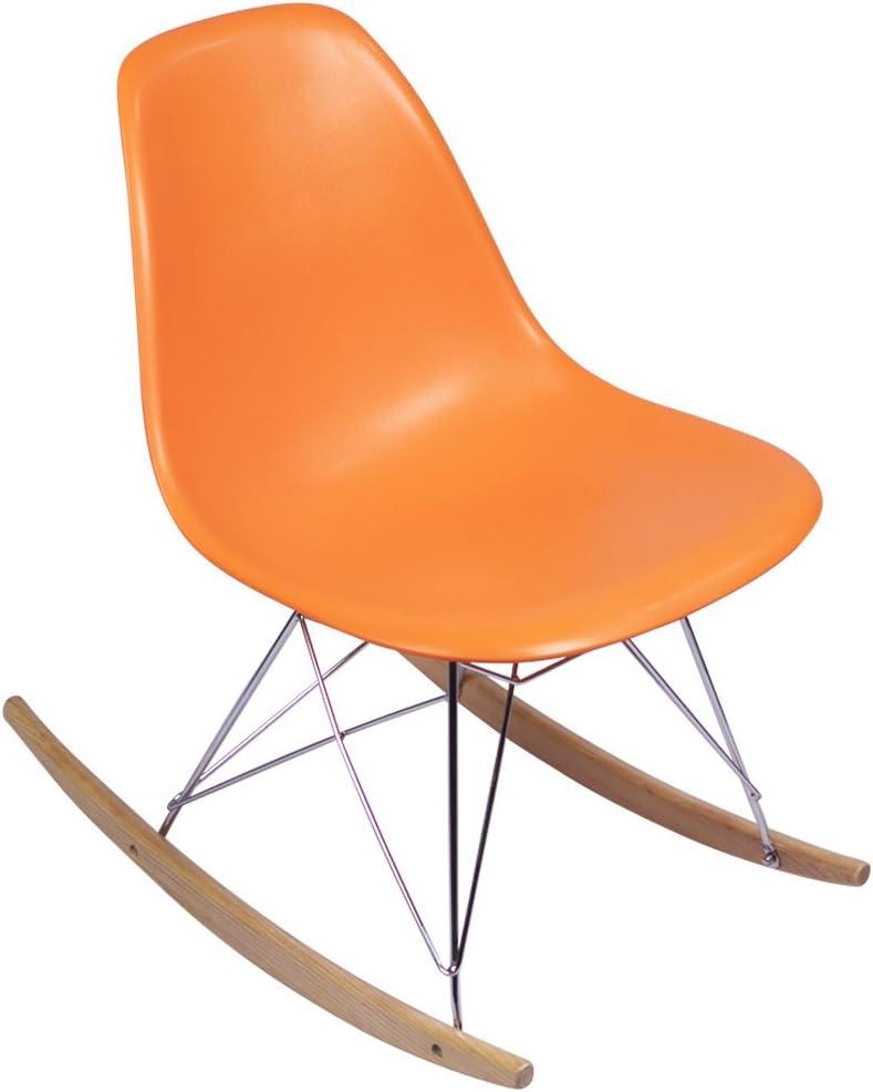 Eames Rocking Chair Orange Replica