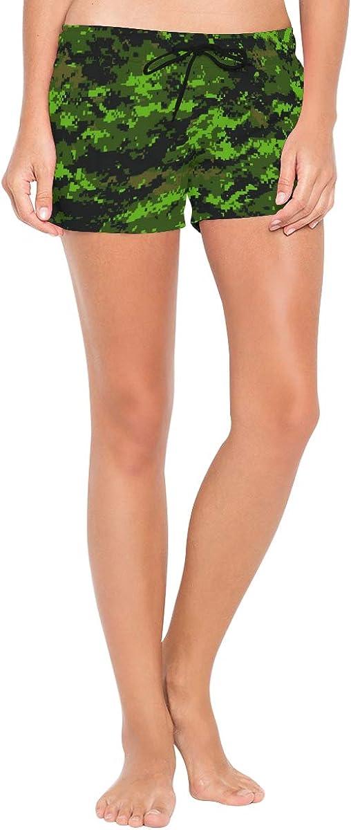 Lilyco-Home Cadpat Tw Women Board Shorts Swim Trunks Summer Casual Beach Shorts Pants