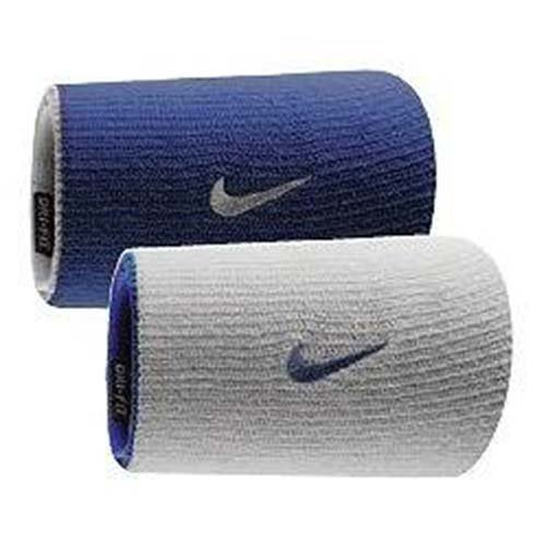 Nike Dri-fit Home & Away Doublewide Wristbands  Unisex Rever