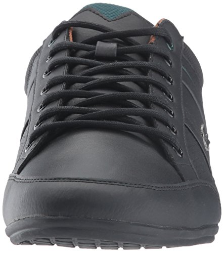 Lacoste Men's Chaymon 317 1, Black/Tan, 13 M US