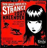Emily the Strange Wandkalender 2007
