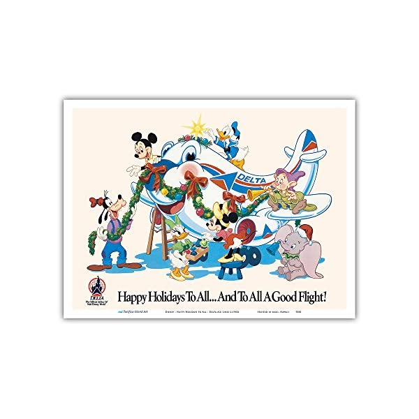 Pacifica Island Art Mickey Mouse and Disney Characters – Happy Holidays to...