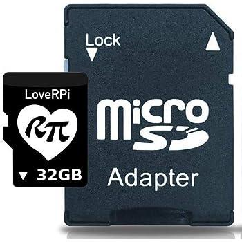 Amazon.com: Raspberry Pi 16GB Preloaded (NOOBS) SD Card, Pre ...