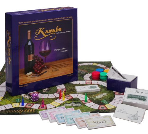 Karafe Wine Tasting Game: The Fun Game to Learn About Wine by Karafe Games