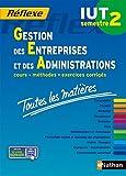 Toutes les matières IUT Gestion des entreprises et des administrations - Semestre 2