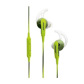 345a989e6f4 Bose® SoundSport ® - Auriculares in-ear para Apple, color Energy Green:  Amazon.es: Electrónica