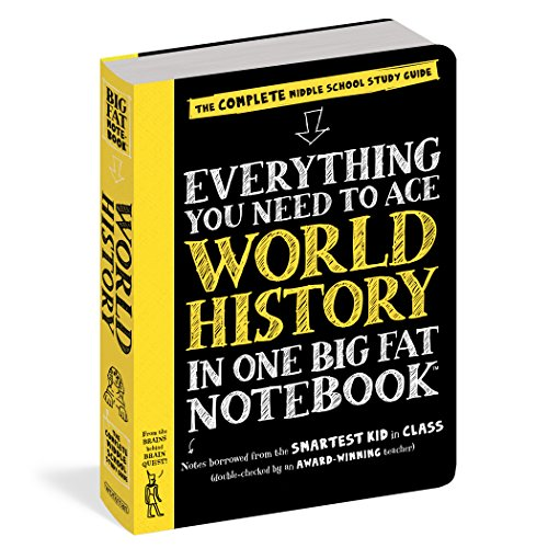 Complete Fat - Everything You Need to Ace World History in One Big Fat Notebook: The Complete Middle School Study Guide (Big Fat Notebooks)