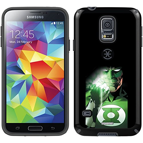 Coveroo CandyShell Cell Phone Case for Samsung Galaxy S5 - Retail Packaging - Green Lantern Shining Ring (Green Galaxy Lantern Case S5)