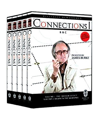 Connections 1, Presented by James Burke (2007, 5-Disc Set) BRAND NEW
