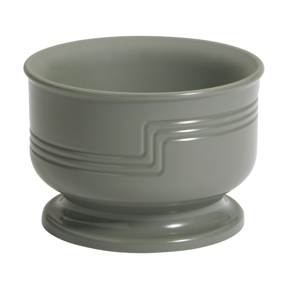 Cambro Shoreline Collection 5 Oz Small Meadow Green Plastic Insulated Bowl - 3 1/2''Dia x 2 3/8''H by CAMBRO MFG COMPANY