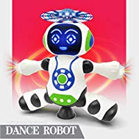 Toyshine Electro Dancing Robot with 3D Lights and Music