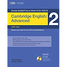 Exam Essentials: Cambridge Advanced Practice Tests 2 W/Key + DVD-ROM
