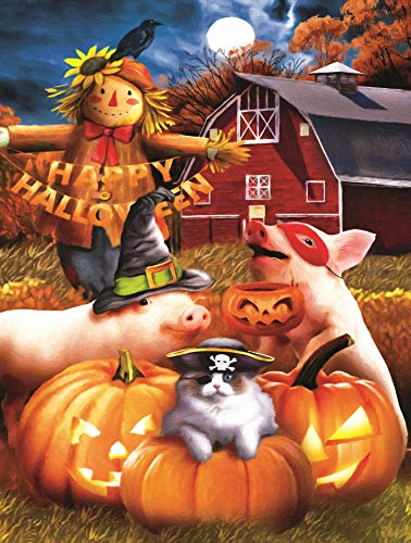 Happy Halloween 500 pc Jigsaw Puzzle by SunsOut ()