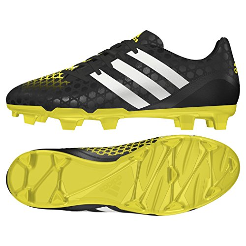 Adidas Scarpa Rugby Incurza Rugby FG Nero Giallo 44 2/3