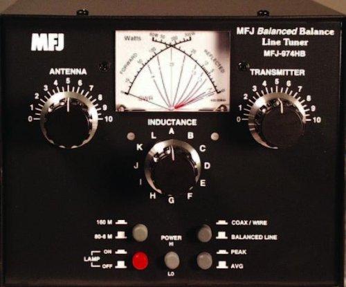 MFJ-974HB MFJ-974 MFJ Original Enterprises Manual Tuner + SWR, 1.8-54MHz, 30/300W by MFJ