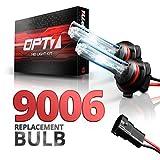 OPT7 Blitz 9006 Replacement HID Bulbs Pair [5000K Bright White] Xenon Light
