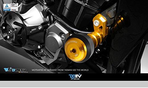 Dimotiv(DMV) Z1000 2010~20155エンジンスライダー ロールシリーズ(Roll Series Fairing Guard)ゴールド DI-FGMK-KA-09-FGR-G   B01CFSER5S