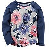 BEILEI CREATIONS Baby Girls Sweatshirts Long Sleeve Cotton Causal Kids T-Shirt Striped (4T,Dark Blue)
