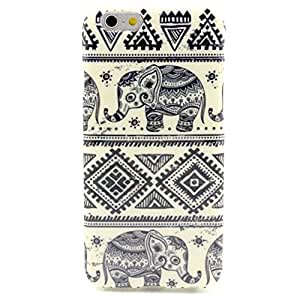 iPhone 6 Case, MOKOU A Style Hybrid Fancy Colorful Pattern Hard Soft Silicone Back Case Cover Fit for iphone6 4.7Inch (Q)