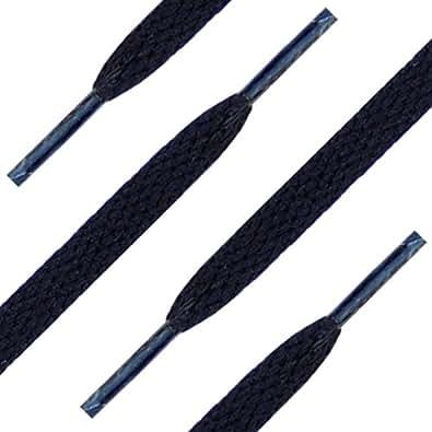 """27"""" (69 cm) Black Shoelaces (Flat)"""
