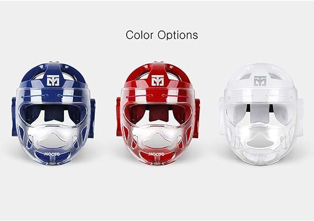 Tmax WTF Mooto Face Cover Headgear Taekwondo MMA Face Protection