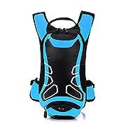 Lixada 12L Wasserabweisend Fahrrad Schulter Rucksack Wasser Reisetasche Ultralight f¨¹r Radsport Outdoor Reiten…