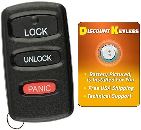 Discount Keyless Entry Remote Control Car Key Fob Shell Case Button Pad Cover For Mitsubishi Galant E4EG8D-522M-A