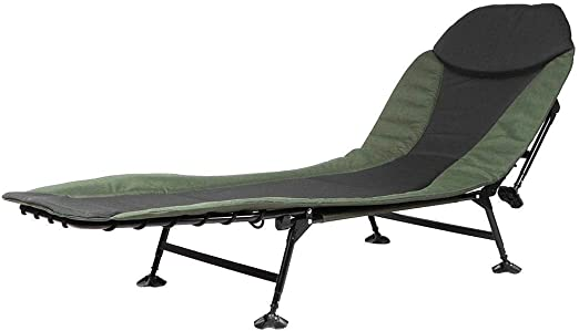 Silla de Cama,Camping Cama Bedchair Sillón Plegable 6 Patas reclinable Tumbona para jardín Tumbonas para Carpa, Pesca, Campamento,167 * 63 * 34cm: Amazon.es: Hogar