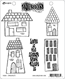 Ranger DYR-64671 Dyan Reaveley's Dylusions Cling Stamp Collections 8.5''X7''-Home