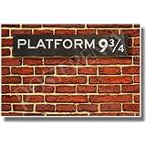 Platform 9-3/4 - NEW Hogwarts Express Harry Potter Humor Poster