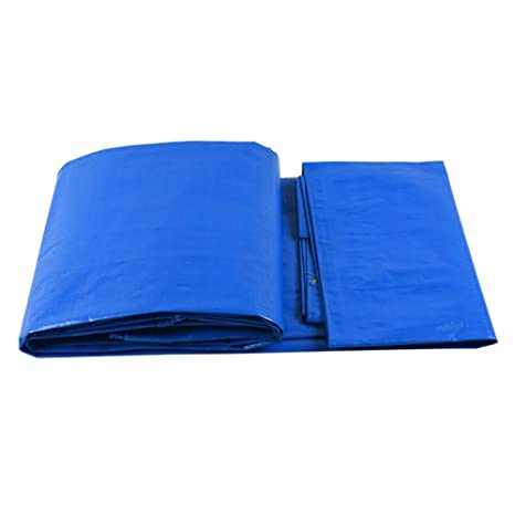 Tarps Lona de plástico con Ojales Impermeable, Resistente al Agua, para cobertizos, protección