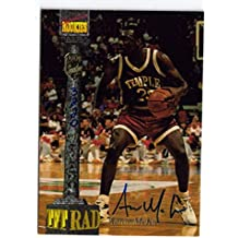 1994 SIGNATURE ROOKIES AARON MCKIE TEMPLE 76'ERS LAKERS PISTONS SIGNED CARD AUTO