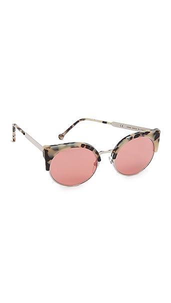 Amazon.com: Super anteojos de sol de la mujer Ilaria Gel ...