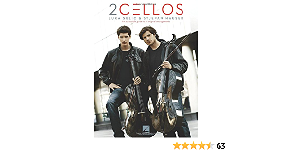 2 Cellos Sheet Music Collection Book Selections from Celloverse In2ition /& Score